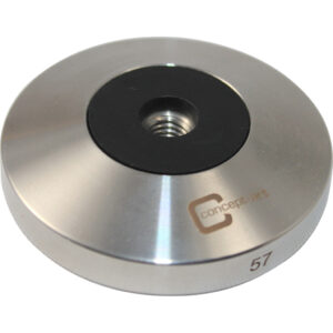 Concept Art 57mm Tamper Base - stainless steel