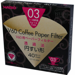 Hario Misarashi 03 Paper Filters - 40 count