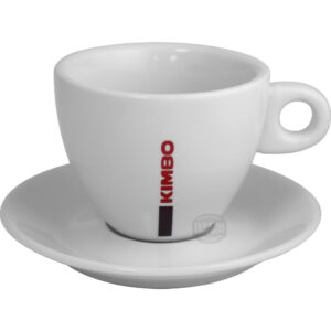 Kimbo Cappuccino Cup & Saucer - large, 9.5 fl oz
